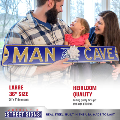 Georgia Southern Steel Street Sign with Logo-MAN CAVE
