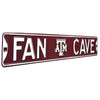 Texas A&M Aggies Steel Street Sign with Logo-FAN CAVE