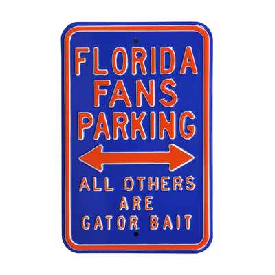 Florida Gators Steel Parking Sign-Gator Bait