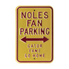 Florida State Seminoles Steel Parking Sign-Gators Go Home