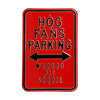 Arkansas Razorbacks Steel Parking Sign-Woo Pig Sooie