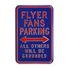 Dayton Flyers Steel Parking Sign-Flyer Fans