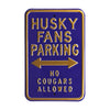 Washington Huskies Steel Parking Sign-No Cougars