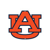 Auburn Tigers Laser Cut Steel Logo Spirit Size-AU Orange