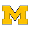 LARGE Michigan Wolverines STEEL Logo Sign