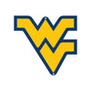 West Virginia Mountaineers Laser Cut Steel Logo Spirit Size-Primary Logo Yellow