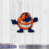 Syracuse Orange Laser Cut Steel Logo Spirit Size-Aggressive Otto