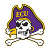 East Carolina Pirates Laser Cut Steel Logo Spirit Size-Pirate Logo
