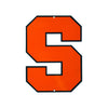 Syracuse Orange Laser Cut Steel Logo Spirit Size-Primary Logo