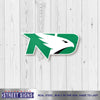 North Dakota Laser Cut Steel Logo Spirit Size-Primary Logo