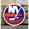 NHL New York Islanders Metal Logo