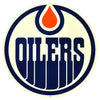 LARGE Edmonton Oilers STEEL Logo Sign