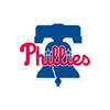 Philadelphia Phillies Laser Cut Logo Steel Magnet-Primary Bell Logo