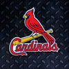 MLB St. Louis Cardinals Metal Super Magnet-Bird On Bat