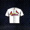 MLB St. Louis Cardinals Metal Super Magnet-Home Jersey