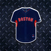 MLB Boston Red Sox Metal Super Magnet-Navy Jersey