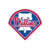 Philadelphia Phillies Laser Cut Logo Steel Magnet-Primary Home Plate Logo