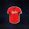 MLB Cincinnati Reds Metal Super Magnet- Red Jersey