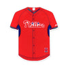 Philadelphia Phillies Laser Cut Logo Steel Magnet-BP Jersey