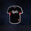 MLB Cincinnati Reds Metal Super Magnet- Black Jersey