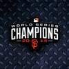 MLB San Francisco Giants Metal Super Magnet-WS2014 Champs