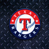 MLB Texas Rangers Metal Super Magnet