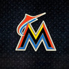 MLB Miami Marlins Metal Super Magnet