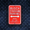 MLB St. Louis Cardinals Metal Super Magnet-Busch Stadium Parking