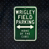 MLB Chicago Cubs Metal Super Magnet- Wrigley Field Parking