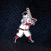 MLB Minnesota Twins Metal Super Magnet-Minnie Batting