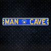 MLB Milwaukee Brewers Metal Super Magnet- Man Cave