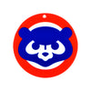 Chicago Cubs Laser Cut Logo Steel Magnet-1979 Bear