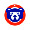 Chicago Cubs Laser Cut Logo Steel Magnet-1994 Bear