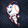 MLB New York Mets Metal Super Magnet-Mr. Met