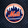 MLB New York Mets Metal Super Magnet- Circle Logo