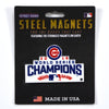 MLB Chicago Cubs Metal Super Magnet-WS2016 Champs