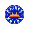 Kansas City Royals Laser Cut Logo Steel Magnet-Raised Royal
