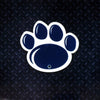 NCAA Penn State Nittany Lions Metal Super Magnet-Paw