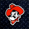 NCAA Oklahoma State Cowboys Metal Super Magnet-Pete Head
