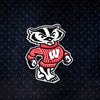 NCAA Wisconsin Badgers Metal Super Magnet-Bucky Badger