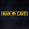 NCAA Iowa Hawkeyes Metal Super Magnet-Man Cave
