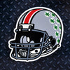 NCAA Ohio State Buckeyes Metal Super Magnet-Football Helmet