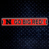 NCAA Nebraska Cornhuskers Metal Super Magnet- Go Big Red