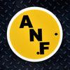 NCAA Iowa Hawkeyes Metal Super Magnet- ANF Circle