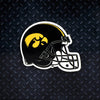 NCAA Iowa Hawkeyes Metal Super Magnet- Football Helmet