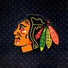NHL Chicago Blackhawks Metal Super Magnet