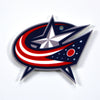 NHL Columbus Blue Jackets Metal Super Magnet