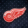 NHL Detroit Red Wings Metal Super Magnet