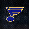 NHL St. Louis Blues Metal Super Magnet-Note