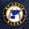 NHL St. Louis Blues Metal Super Magnet-Round